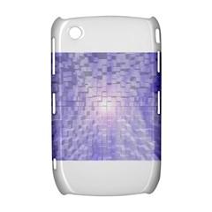 Purple Cubic Typography BlackBerry Curve 8520 9300 Hardshell Case