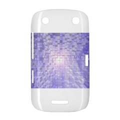 Purple Cubic Typography BlackBerry Curve 9380 Hardshell Case