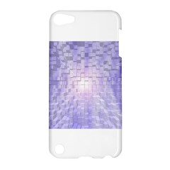 Purple Cubic Typography Apple iPod Touch 5 Hardshell Case