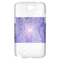 Purple Cubic Typography Samsung Galaxy Note 2 Hardshell Case