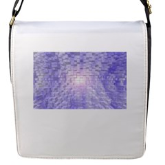 Purple Cubic Typography Removable Flap Cover (small)
