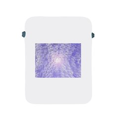Purple Cubic Typography Apple iPad 2/3/4 Protective Soft Case