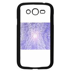 Purple Cubic Typography Samsung I9082(Galaxy Grand DUOS)(Black)