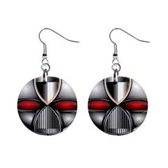 Portal Mini Button Earrings