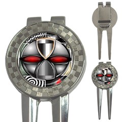 Portal Golf Pitchfork & Ball Marker