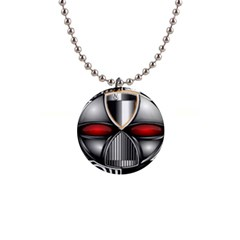 Portal Button Necklace