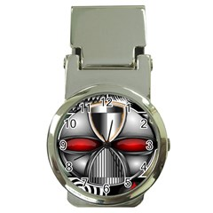Portal Money Clip with Watch