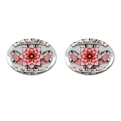 What Doesn t Kill You Cufflinks (Oval)