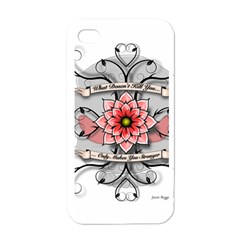What Doesn t Kill You Apple iPhone 4 Case (White)