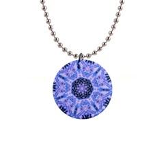 Purple Design Button Necklace