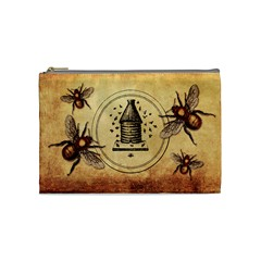 Bumble Bees Cosmetic Bag (medium)