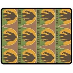 Bigfoot Blanket Fleece Blanket (medium)