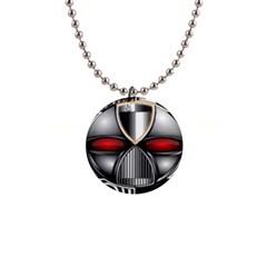 Portal Button Necklace