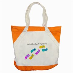 Flip Flop Accent Tote Bag