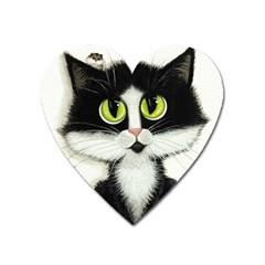 Curiouskitties414 Magnet (heart)