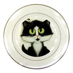 Curiouskitties414 Porcelain Display Plate