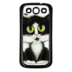 Curiouskitties414 Samsung Galaxy S3 Back Case (Black)