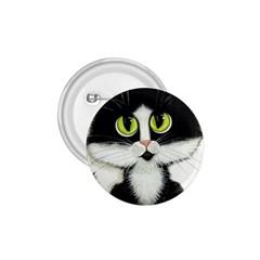 Tuxedo Cat by BiHrLe 1.75  Button