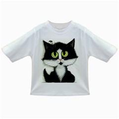 Tuxedo Cat by BiHrLe Baby T-shirt