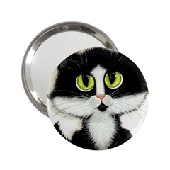 Tuxedo Cat By Bihrle Handbag Mirror (2 25 )