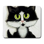 Tuxedo Cat by BiHrLe Large Mouse Pad (Rectangle) Front