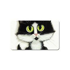 Tuxedo Cat by BiHrLe Magnet (Name Card)
