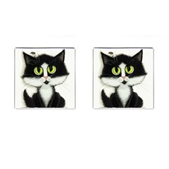 Tuxedo Cat by BiHrLe Cufflinks (Square)