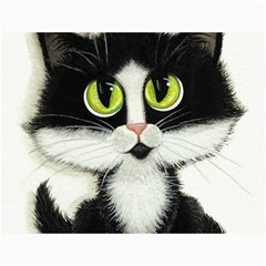 Tuxedo Cat by BiHrLe Canvas 12  x 16  (Unframed)