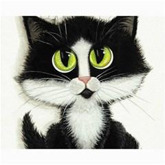 Tuxedo Cat By Bihrle Canvas 16  X 20  (unframed)
