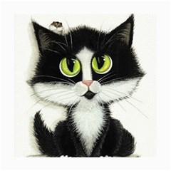 Tuxedo Cat by BiHrLe Canvas 20  x 24  (Unframed)