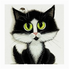 Tuxedo Cat by BiHrLe Glasses Cloth (Medium)