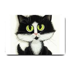 Tuxedo Cat By Bihrle Small Door Mat