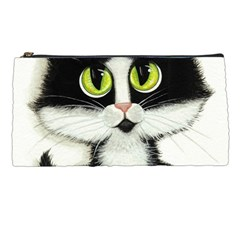 Tuxedo Cat by BiHrLe Pencil Case