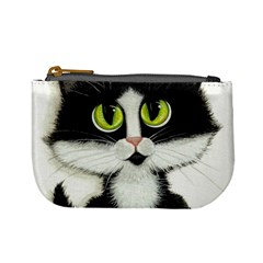 Tuxedo Cat by BiHrLe Coin Change Purse