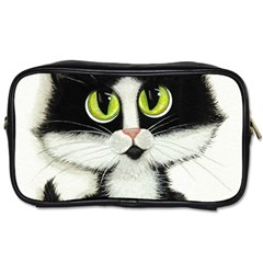 Tuxedo Cat by BiHrLe Travel Toiletry Bag (Two Sides)
