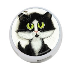Tuxedo Cat By Bihrle 4 Port Usb Hub (two Sides)