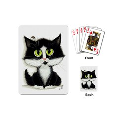Tuxedo Cat By Bihrle Playing Cards (mini)