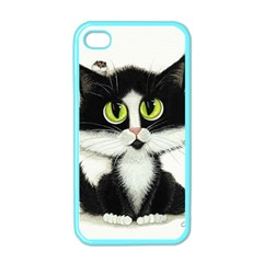 Tuxedo Cat By Bihrle Apple Iphone 4 Case (color)