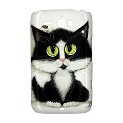 Tuxedo Cat by BiHrLe HTC ChaCha / HTC Status Hardshell Case