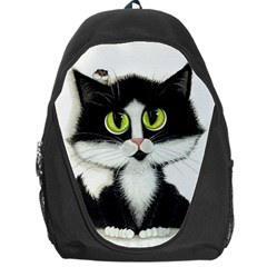 Tuxedo Cat By Bihrle Backpack Bag