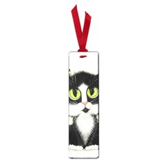 Tuxedo Cat by BiHrLe Small Bookmark