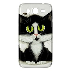 Tuxedo Cat by BiHrLe Samsung Galaxy Mega 5.8 I9152 Hardshell Case