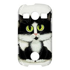 Tuxedo Cat by BiHrLe Samsung Galaxy S7710 Xcover 2 Hardshell Case