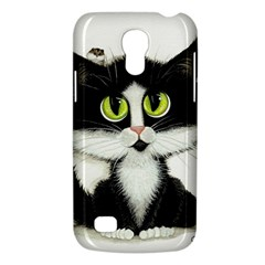 Tuxedo Cat by BiHrLe Samsung Galaxy S4 Mini Hardshell Case