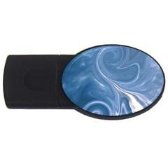 L121 2GB USB Flash Drive (Oval)