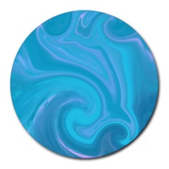 L122 8  Mouse Pad (Round)