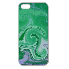 L124 Apple Seamless Iphone 5 Case (clear)