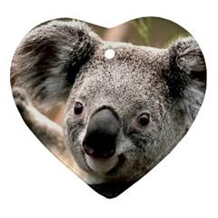 Koala Heart Ornament
