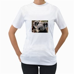 Koala Womens  T-shirt (White)