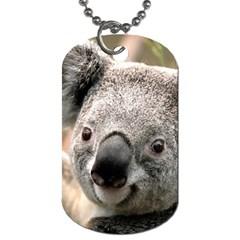 Koala Dog Tag (Two Sided)